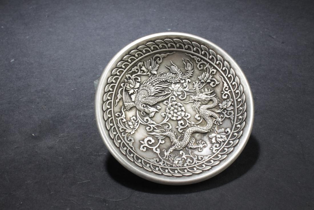 Chinese Dragon & Phoenix Dish