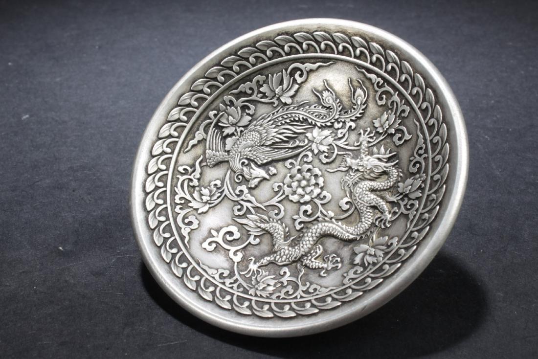 Chinese Dragon & Phoenix Dish - 2