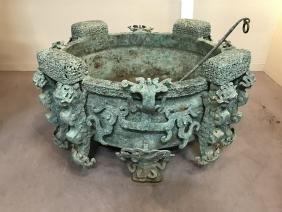 Chinese Bronze Tripod ('Ding')