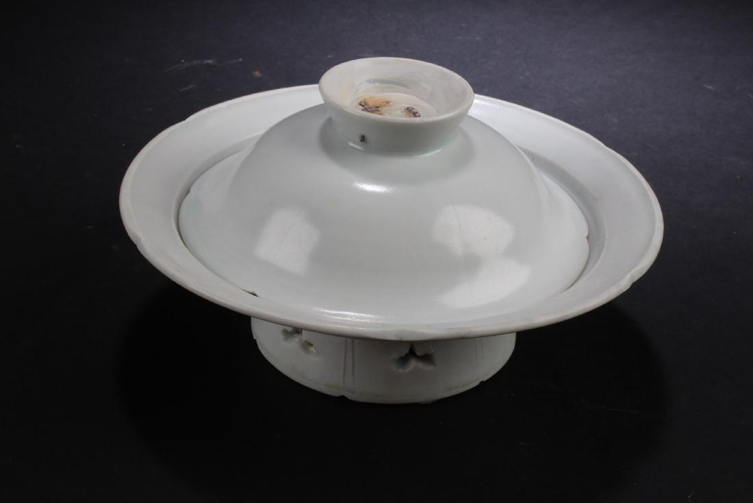 Chinese Porcelain Incense Burner - 3