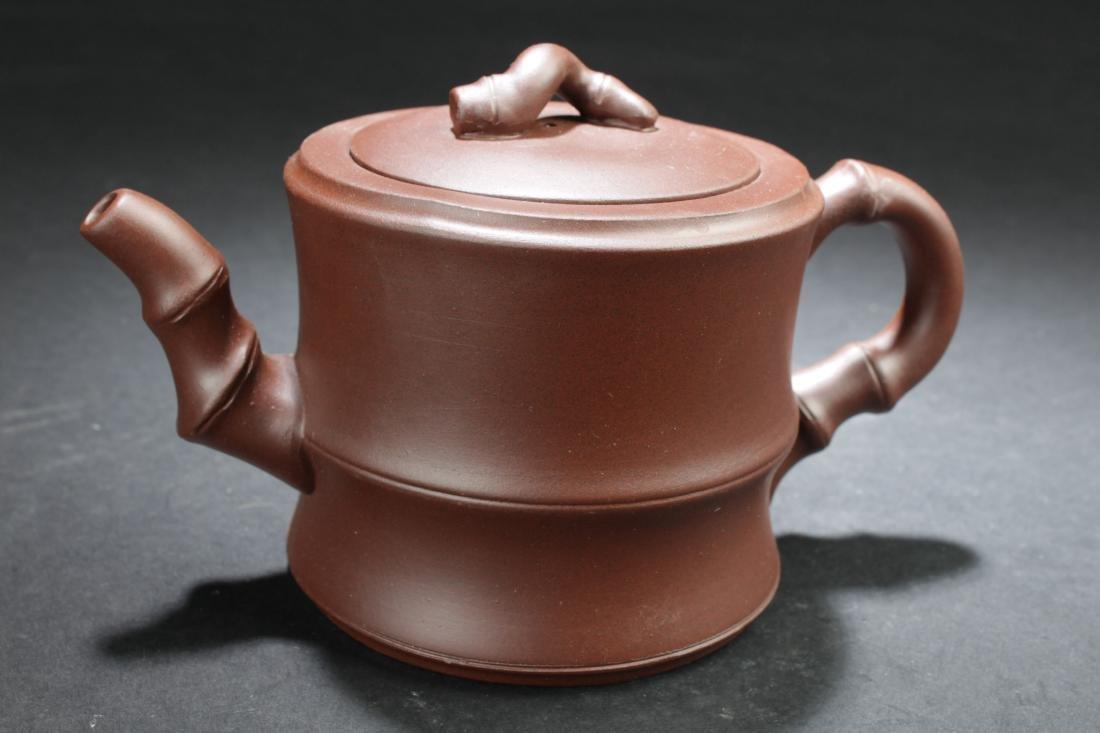 An Estate Chinese Tea Pot Display