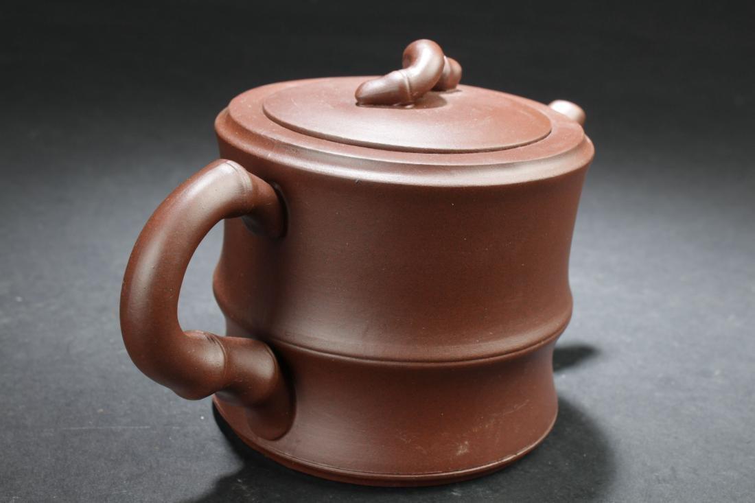 An Estate Chinese Tea Pot Display - 3