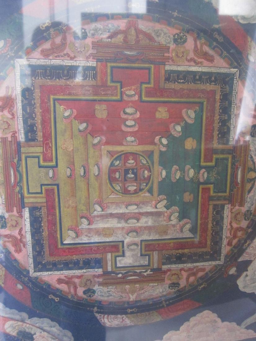 Antique China Tibetan Thangka - 2