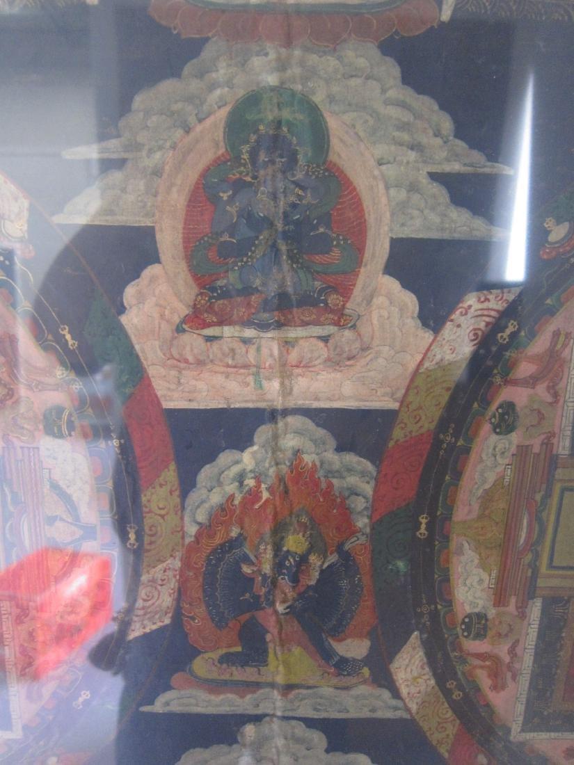 Antique China Tibetan Thangka - 3