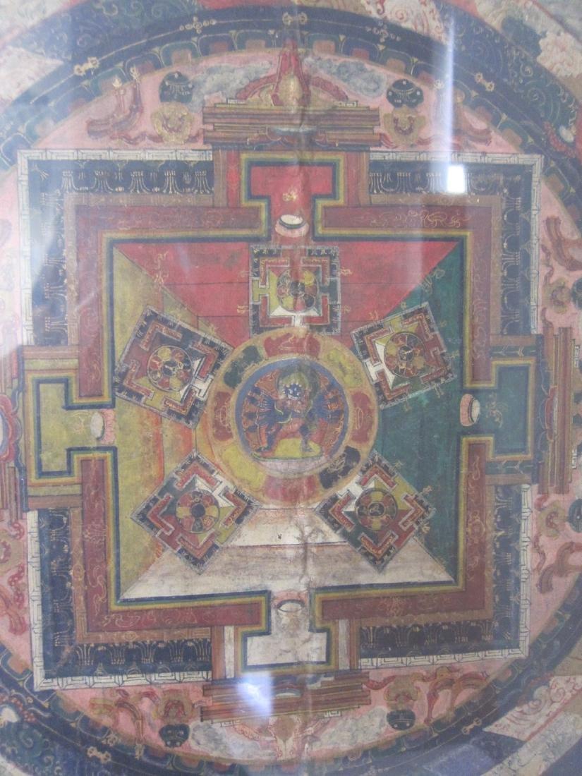 Antique China Tibetan Thangka - 4