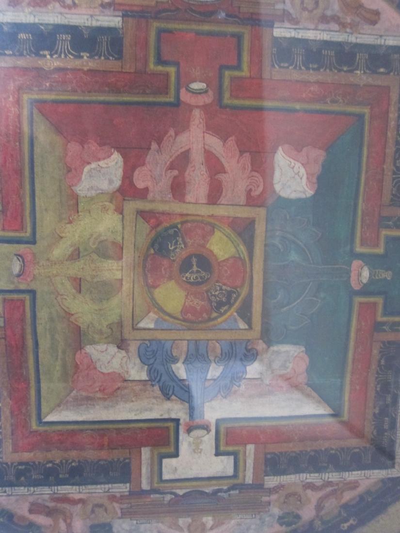 Antique China Tibetan Thangka - 5