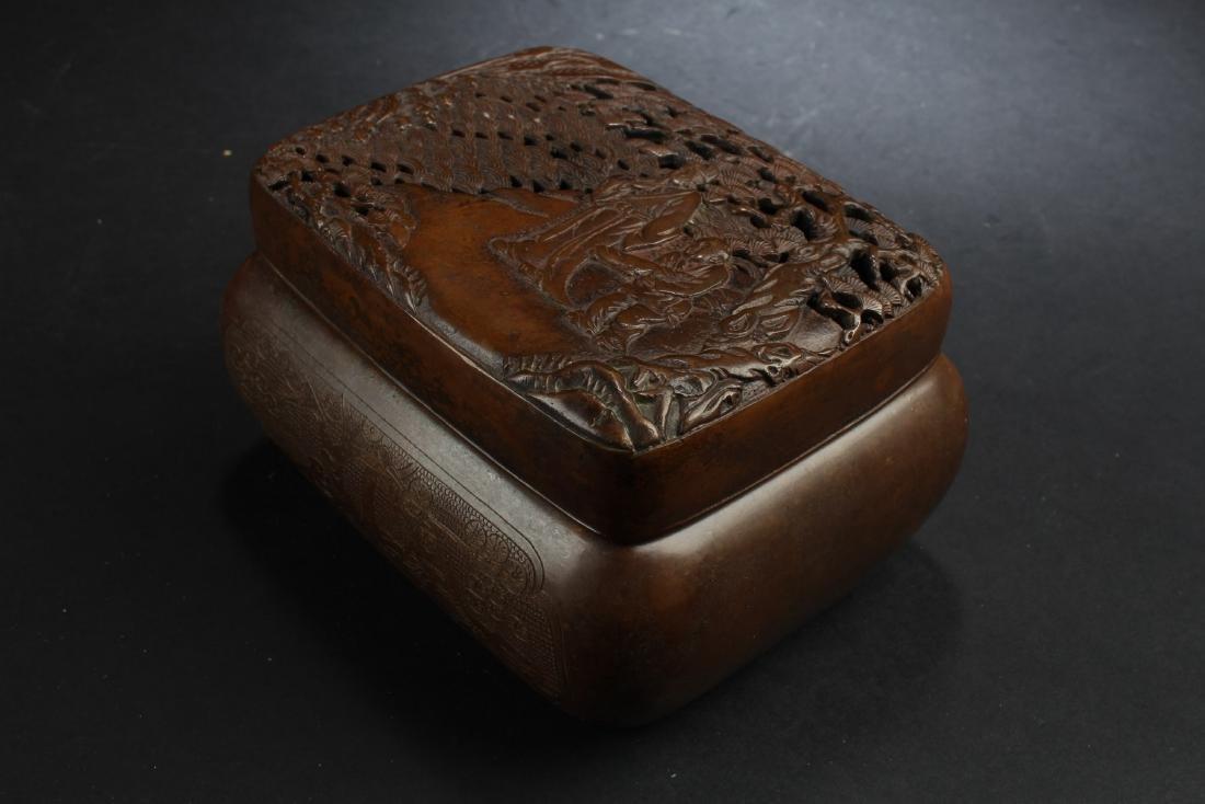 Chinese Bronze Hand Warmer - 2