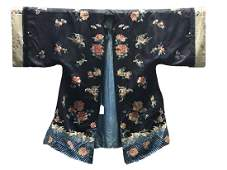 Antique Chinese Silk Embroidery Jacket