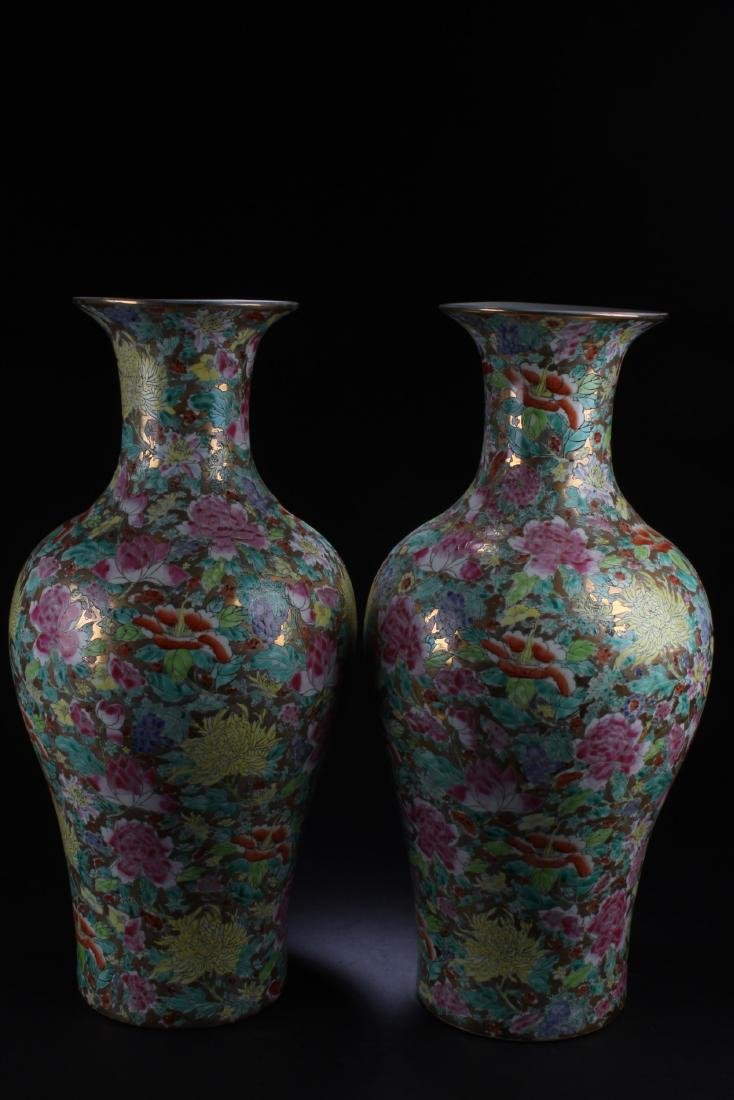 Pair of antique chinese porcelain vases a pair of antique chinese porcelain vases floridaeventfo Choice Image