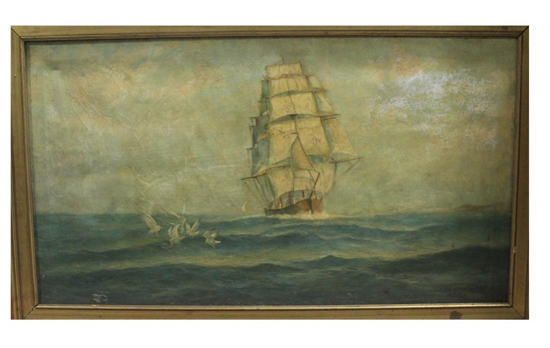 Framed Hand Oil Painting