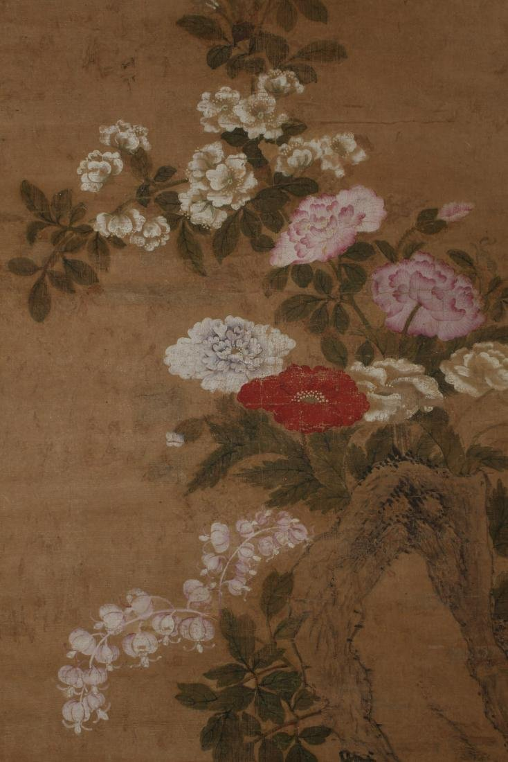 Antique Chinese Painting on Silk - 2