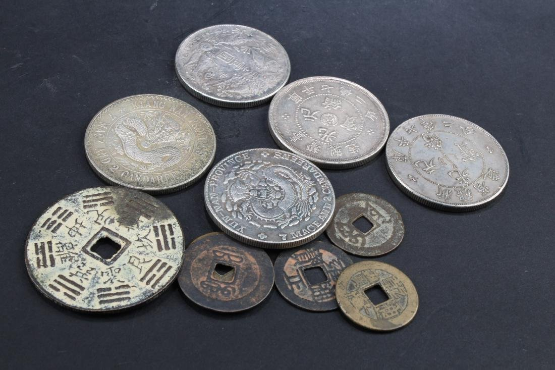 A Group of Eleven Chinese Coins