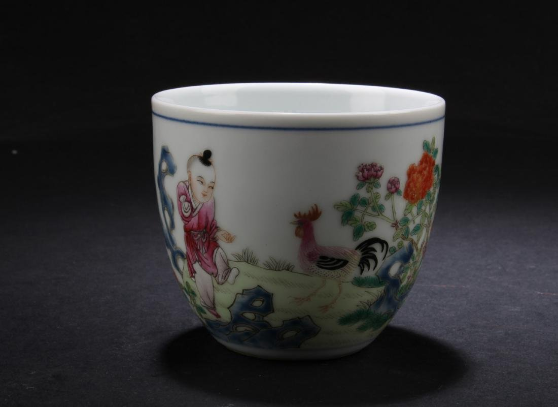 Chinese Porcelain Ji Gang Cup