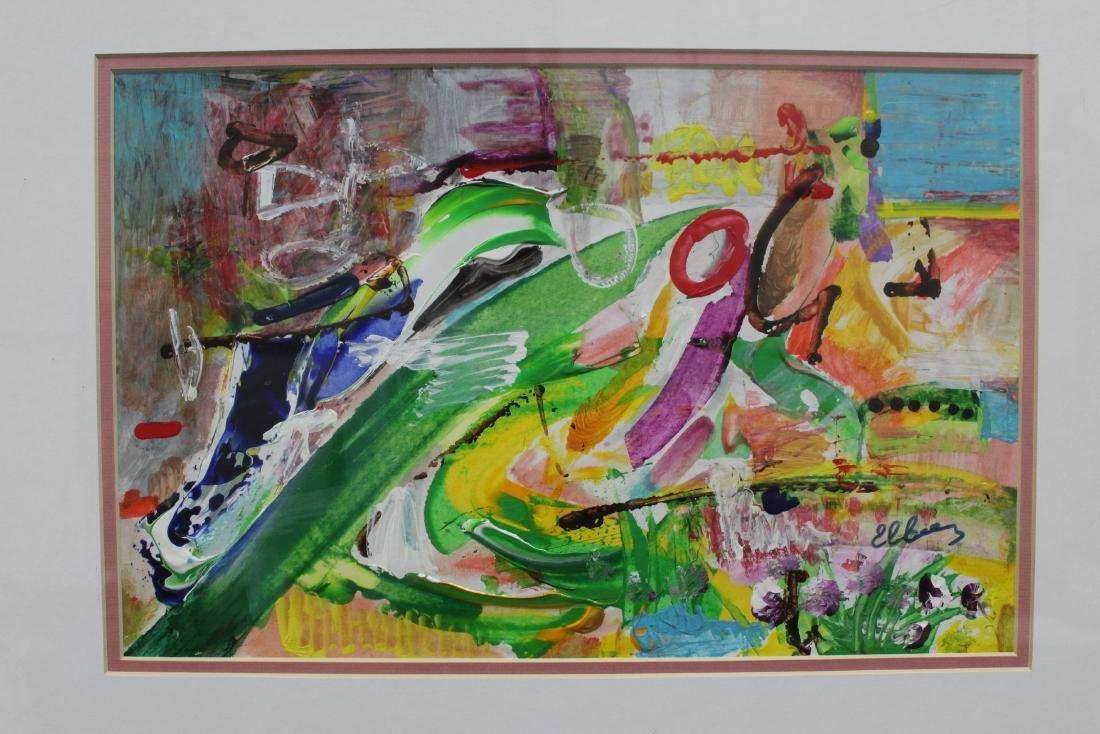 An Acrylic/Oil Painting, Modern world