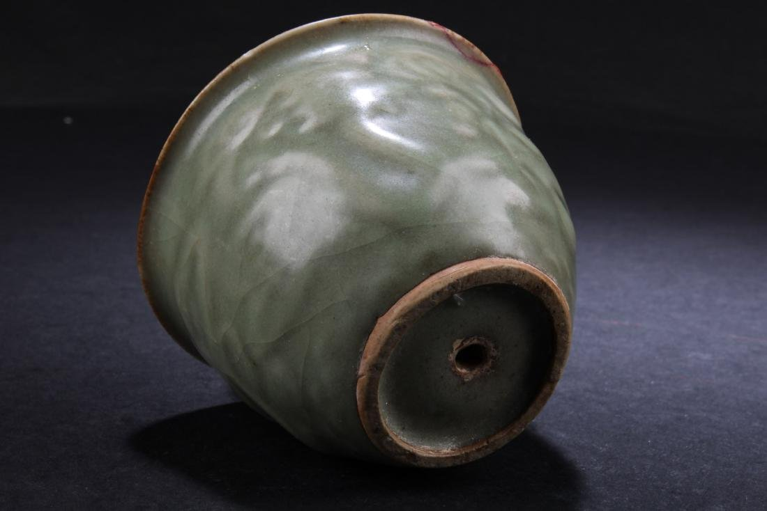A Chinese Celadon 'Gong Dao' Cup - 5