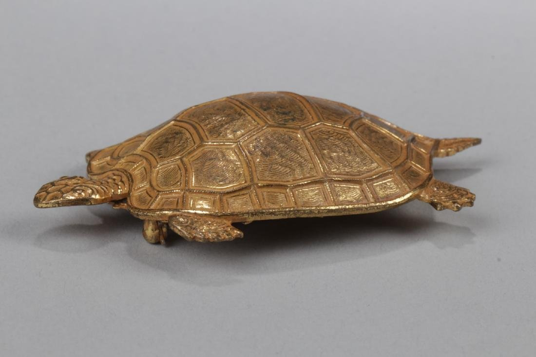 Vintage Gilt Gold Brooch, from Miriam Haskell