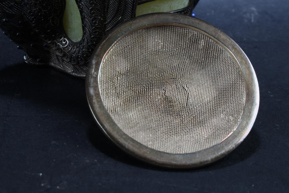 Antique Chinese Silver  Container - 2