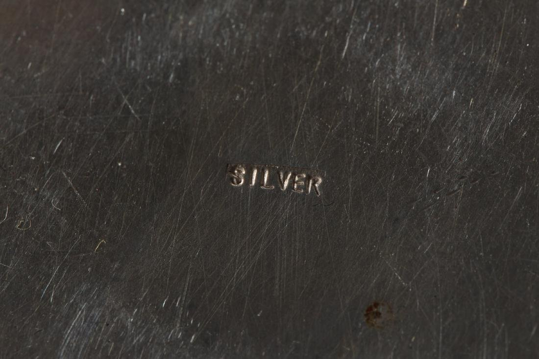 Antique Chinese Silver  Container - 4