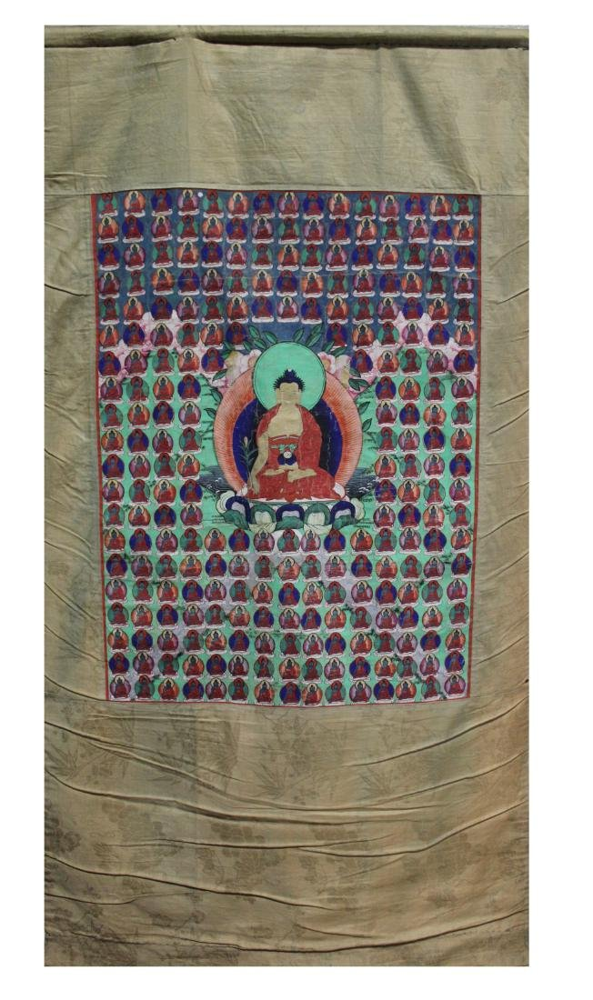 A Chinesee Tibetan Thangka