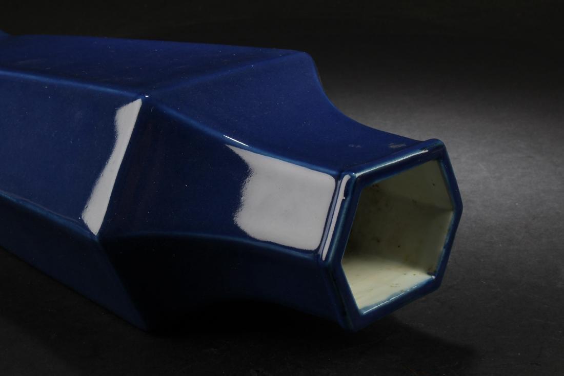 Chinese Hexagon Shaped Porcelain Vase - 3