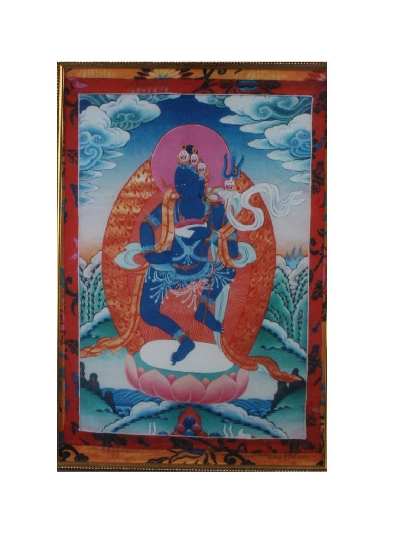 Framed Thangka