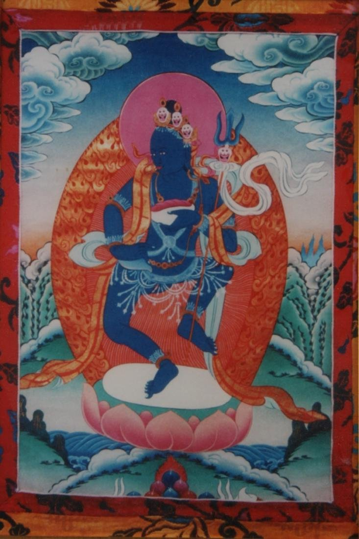 Framed Thangka - 2