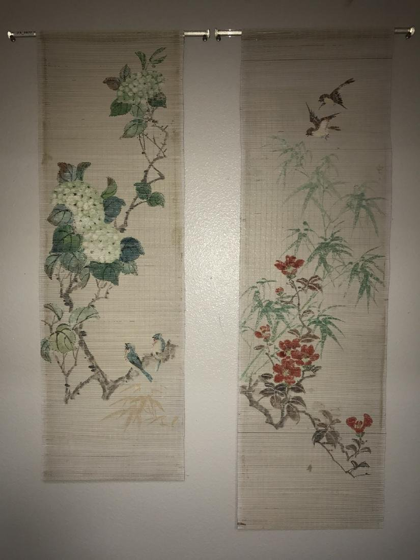 Two Bamboo Painting