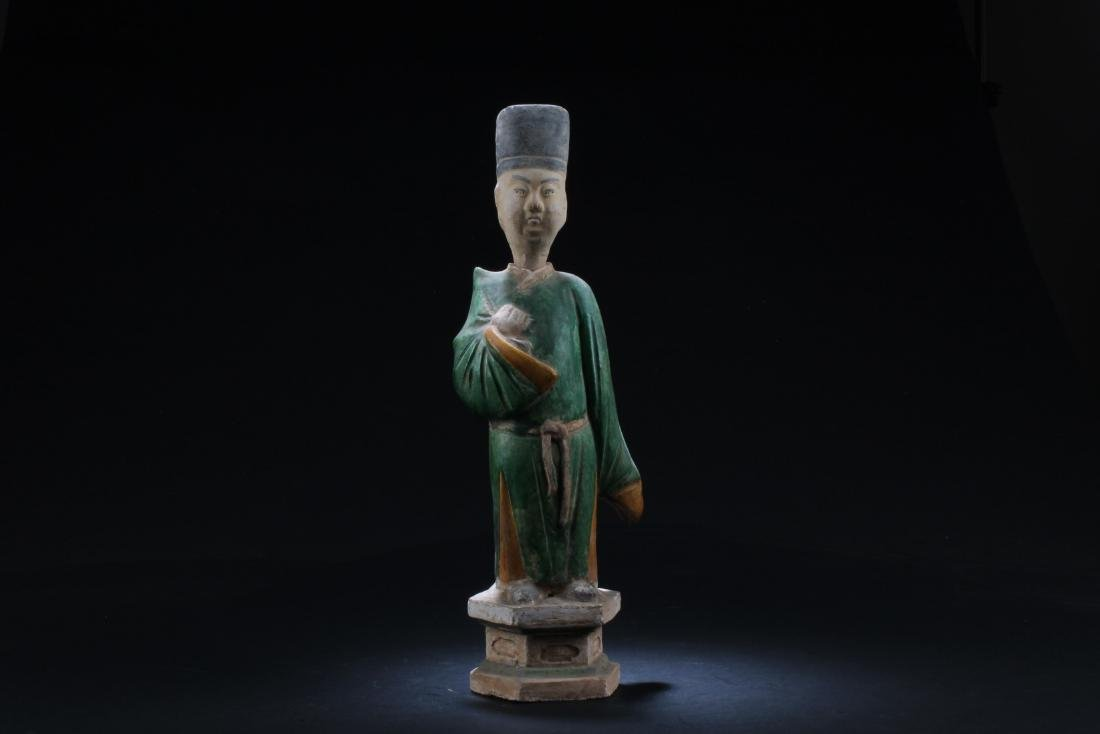 A Chinese Pottery Figurine