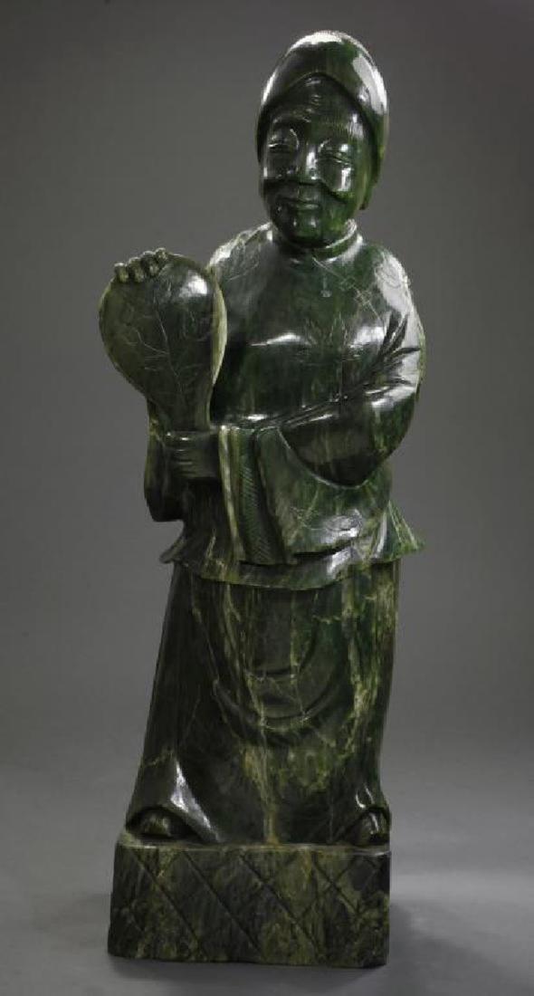 Chinese Jade Figurine Statue