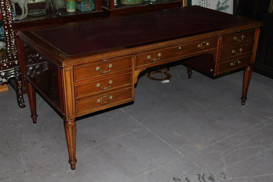 Antique Chinese Hardwood Writing Table