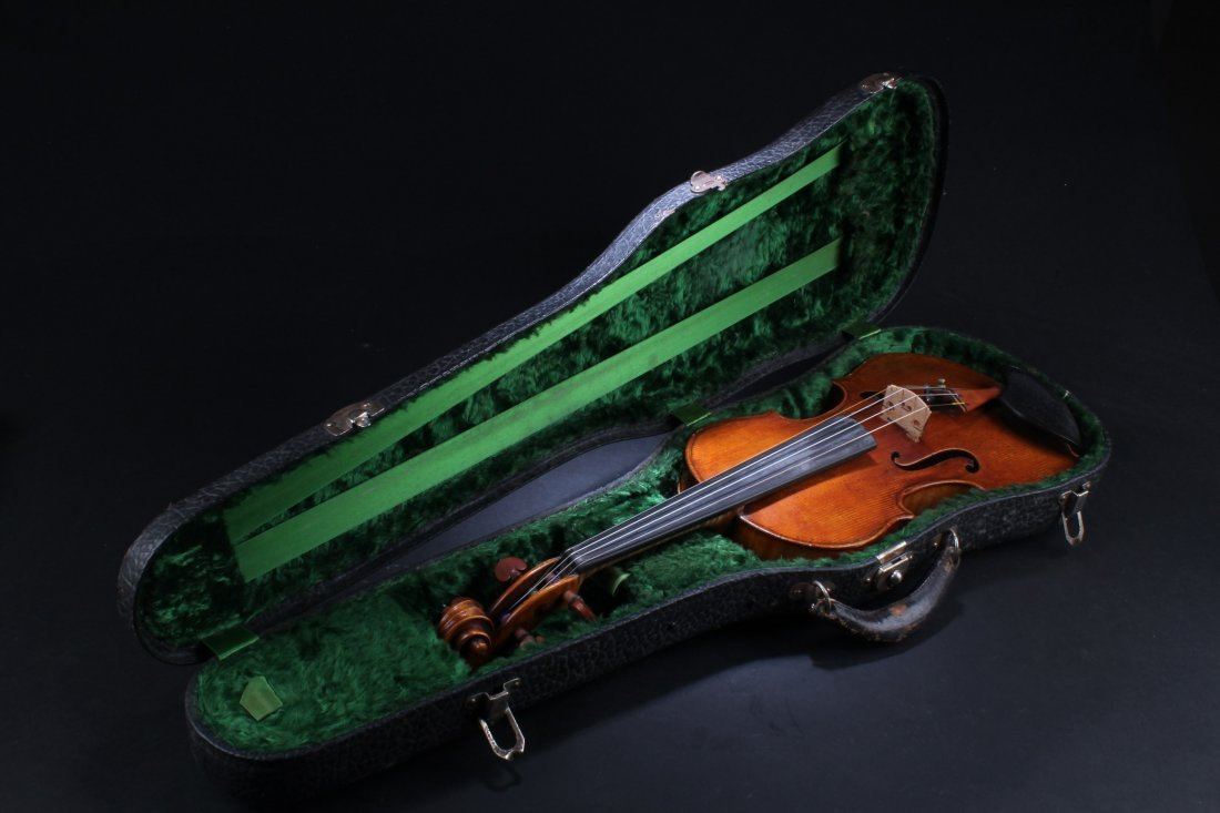 A German Andreas Morelli Violin, Strarius copy 1792