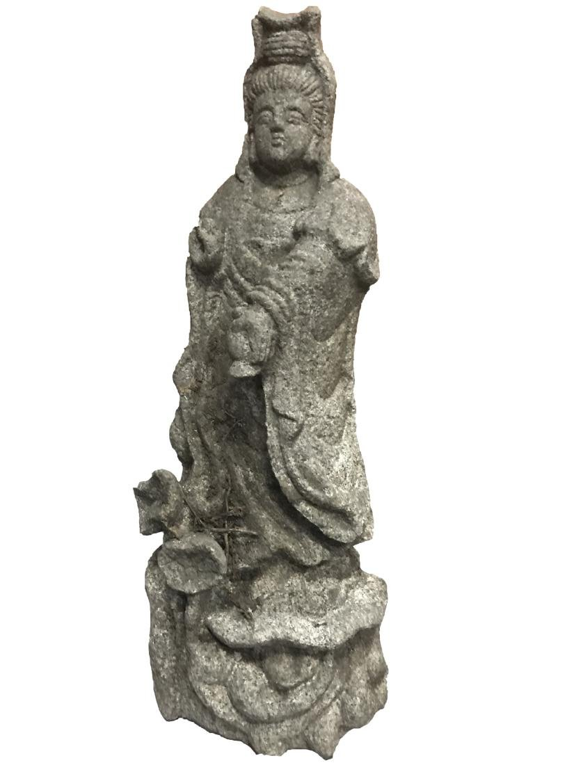 Antique Chinese Stone Statue