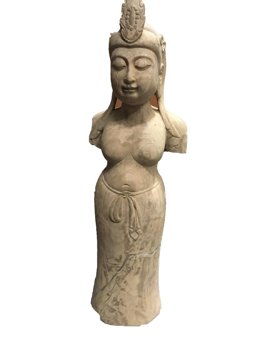 Chinese Stone Statue