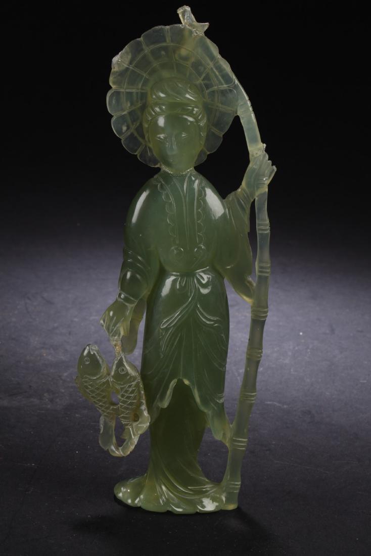 Chinese Jade Statue