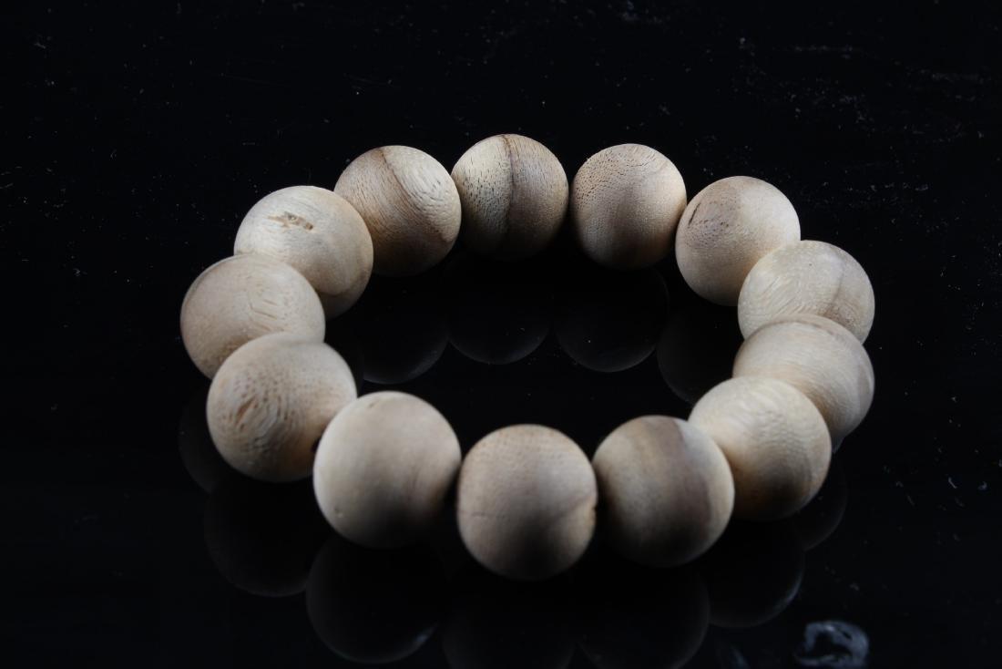 Chinese Agarwood Bead Bracelet