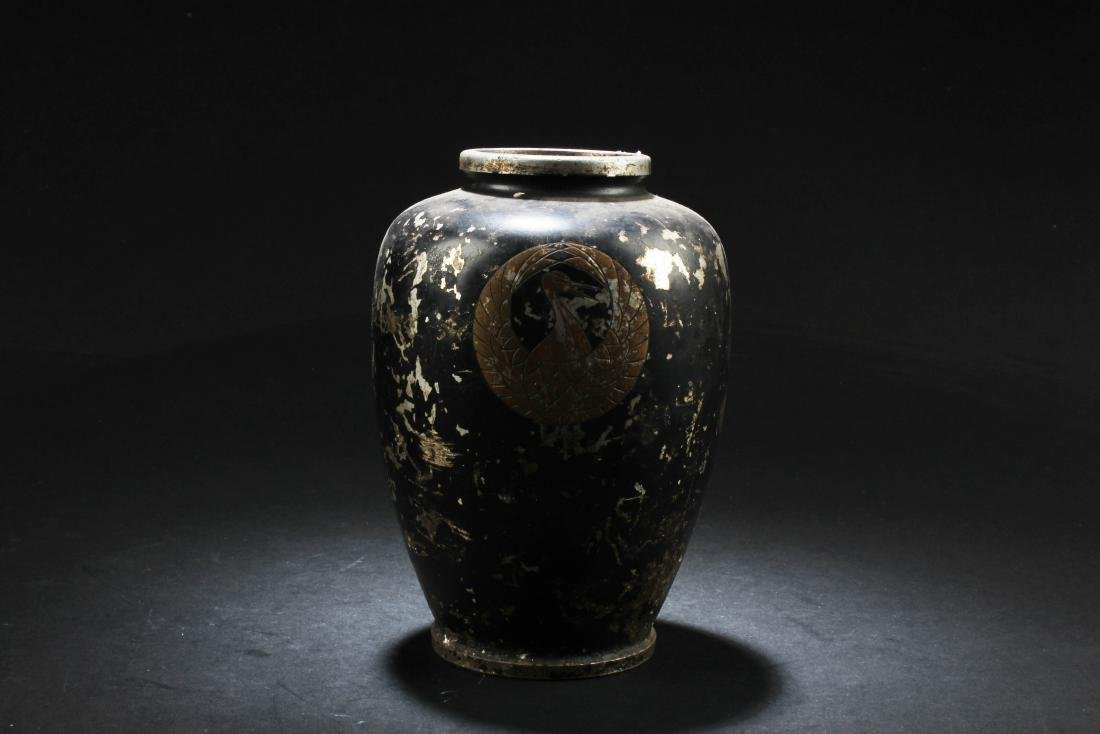 Chinese Pewter Vase