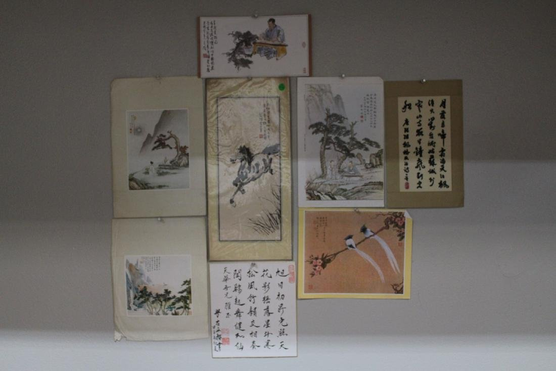 A Group of Eight Chinese Painting