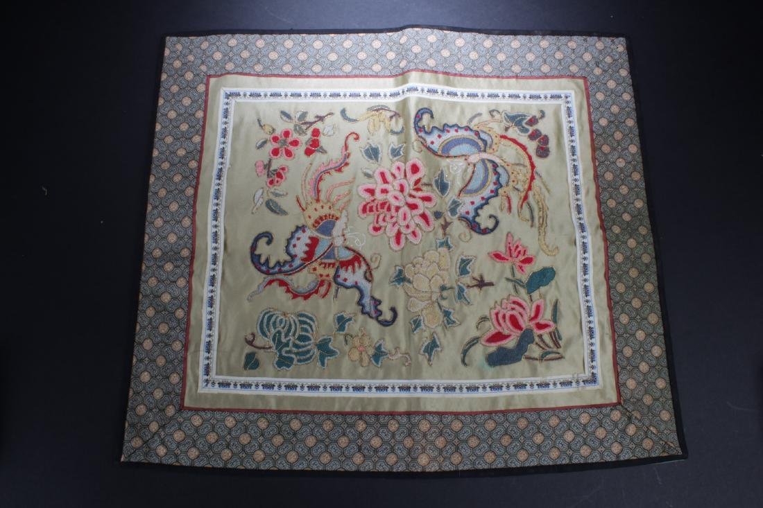 Chinese embroidery silk