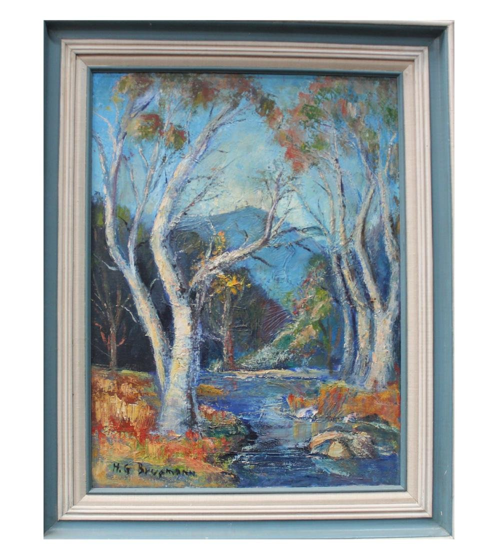 A Framed Oil Painting