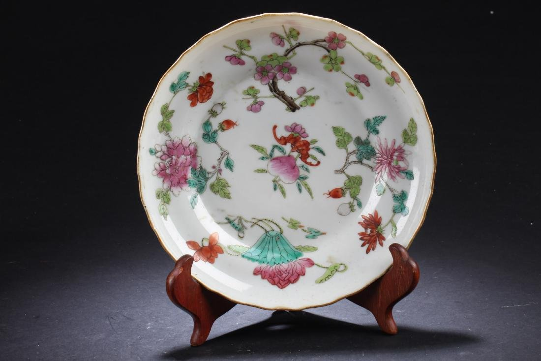 Antique Chinese Porcelain Plate, Ching Dynasty