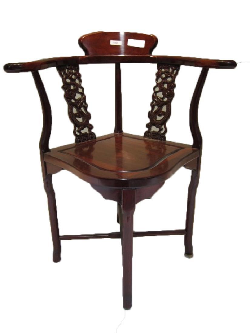 Chinese Three Legged Chair