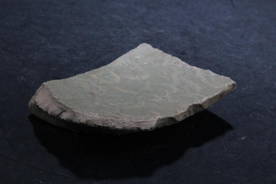 A Broken Porcelain Fragment - 2
