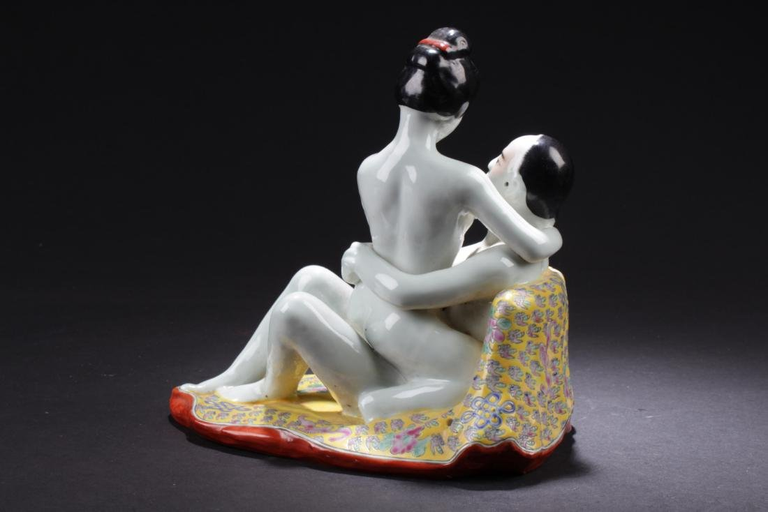 Chinese Porcelain Statue - 5