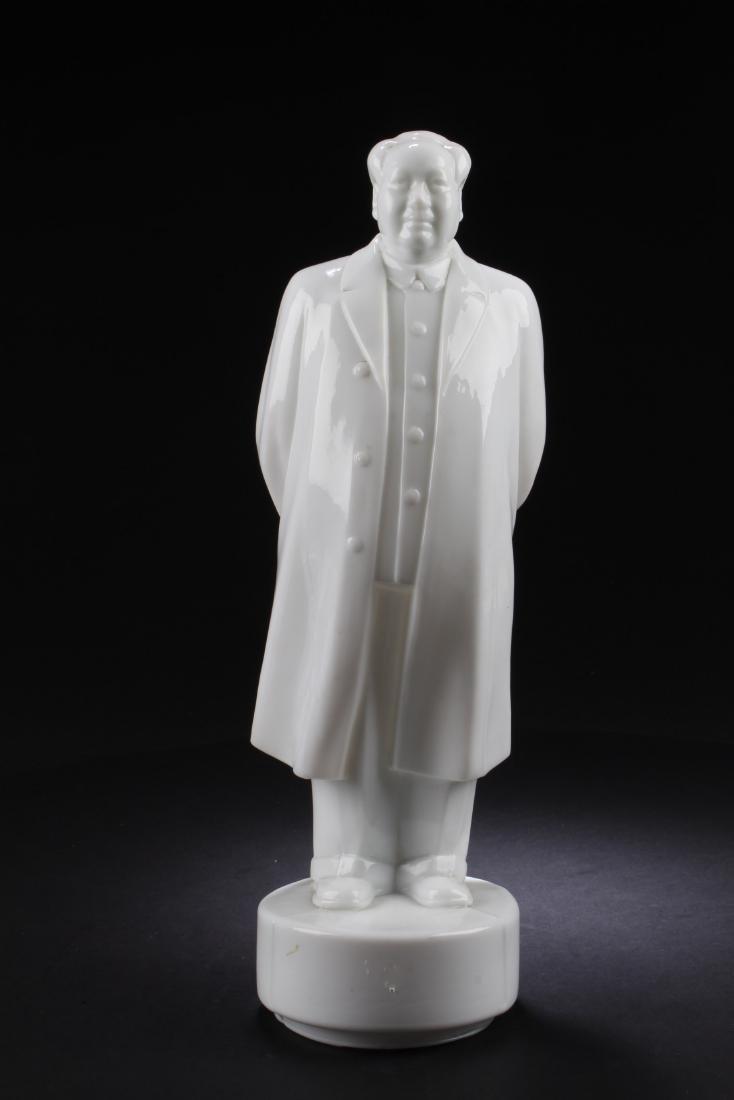 Chinese Blanc De Chine Statue