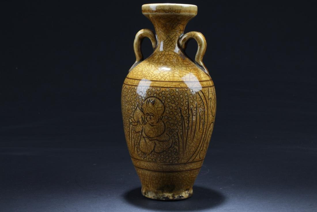 Chinese Enamel Glazed Jar - 3