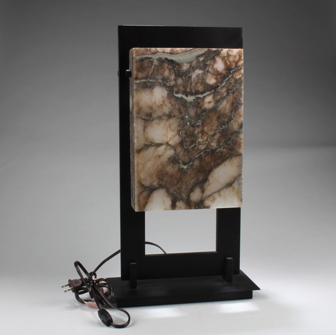 A Stone Table Lamp