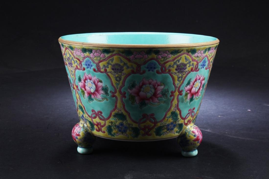 A Chinese Porcelain Tripod Censer