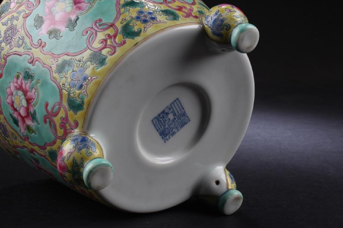 A Chinese Porcelain Tripod Censer - 4