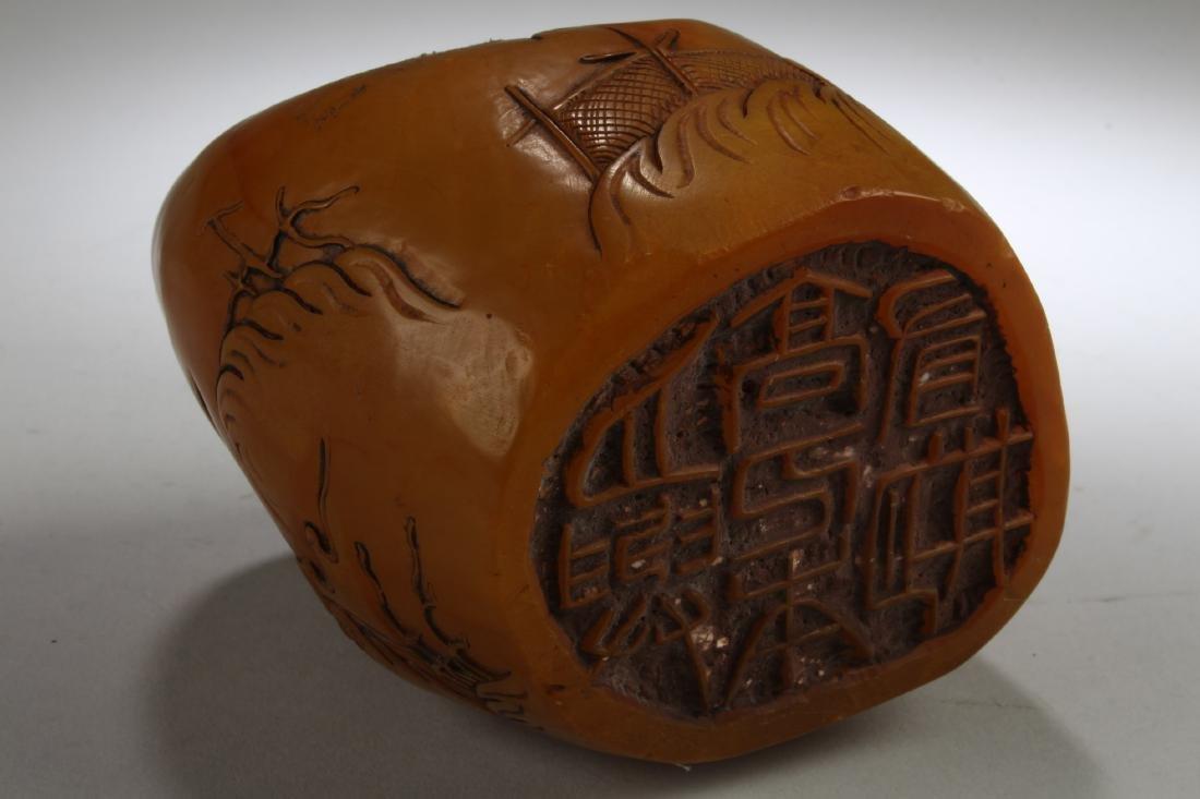 A Soapstone Ornament - 5