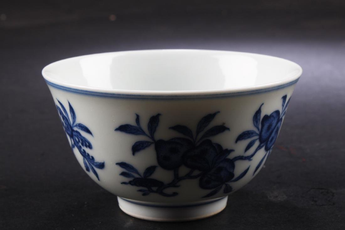 A Chinese Blue & White Wine Cup - 2